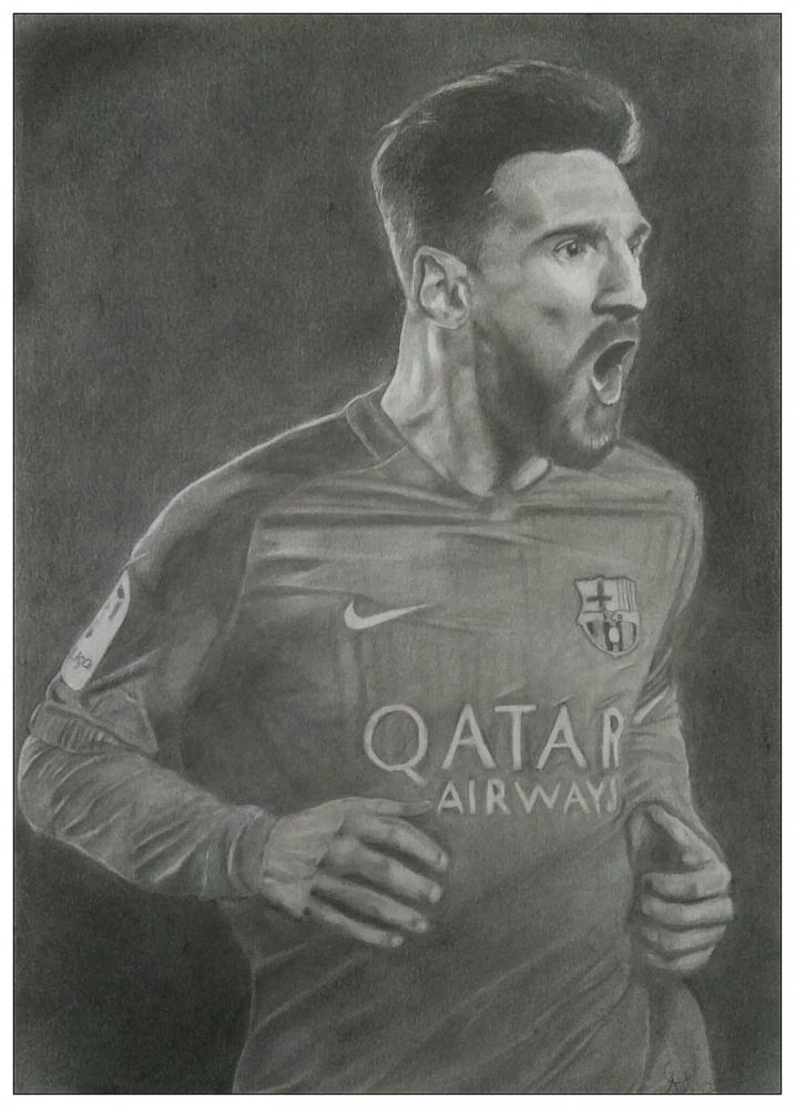 Lionel Messi by arunayathil